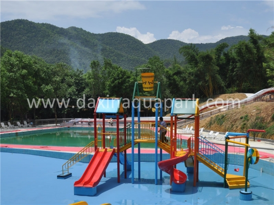 Kids Interactive Water Playground
